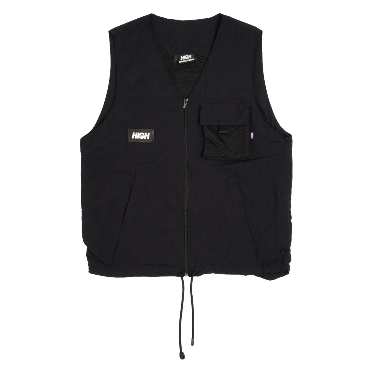 Kangaroo High Vest Black
