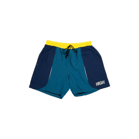 Shorts High Track Yellow/Navy