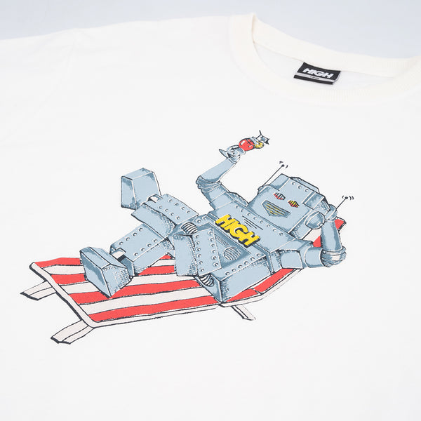 Camisa High Robot White