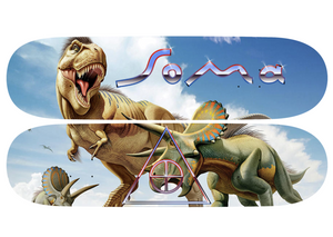 Shape SoMa Mohamad T-Rex x Triceratops Set com 2