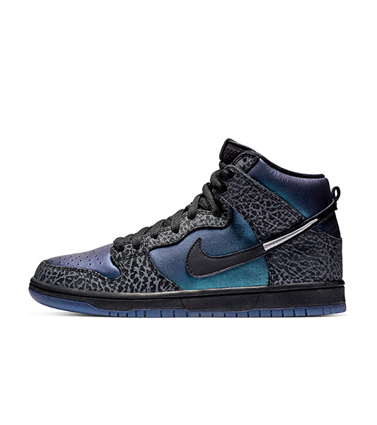 Tênis Nike Dunk High Black Hornet