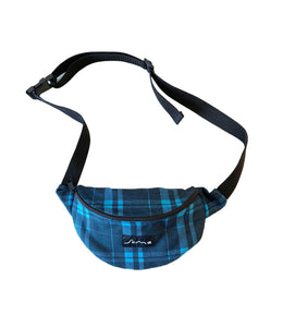 Shoulder Bag Grunge Azul