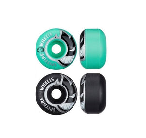 Roda Spitfire Bighead Classic Mashups Black and Teal 54mm