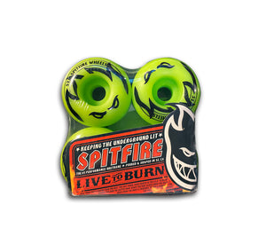 Roda Spitfire 4Head Green 52mm