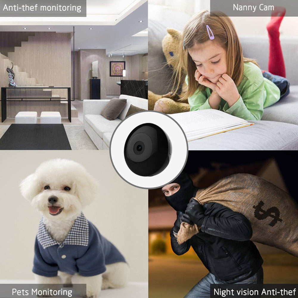 Portable HD Night Vision Mini Video Recorder Camera with motion detector
