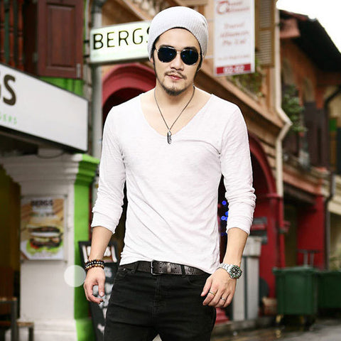 Casual Leisure Fashion Long Sleeve Cotton Shirt Shirts