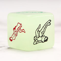 Luminous Foreplay Dice for Adult