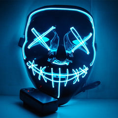 LED Glow In Dark Purge Mask