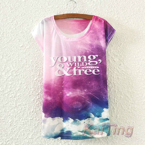 New Fashion Vintage Spring Summer T Shirt for Women