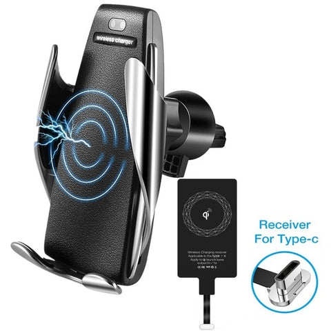 Car Air Vent Holder Wireless Charger