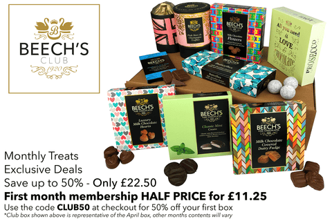 Beech's Fine Chocolates Chocolate Club Box
