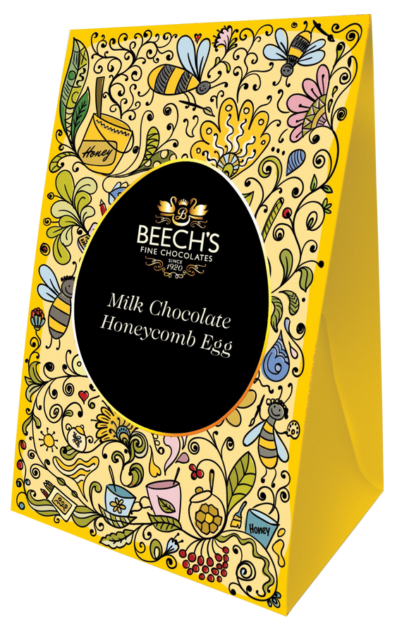 Milk Chocolate Honeycomb Easter Egg (165g)