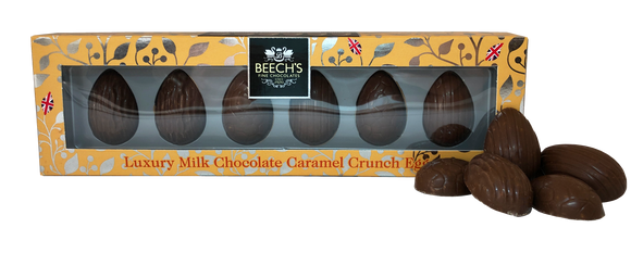 Buy Milk Chocolate Caramel Crunch Mini Half Eggs Online