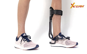 XTERN. FS3000. Foot Drop, Drop Foot. This external foot drop brace will allow running, walking and hiking as far as you want without any discomforts. This will support Drop Foot & Dorsiflexion Weakness, Peroneal Nerve Injury, Charcot Marie Tooth, Stroke, Multiple Sclerosis, Cerebral Palsy, Guillain-Barre Syndrome, Motor Neuropathy, Motor Neurone Disease