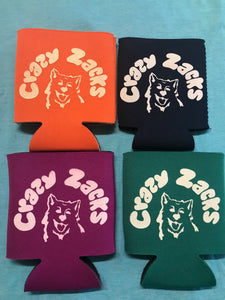 Crazy Zacks Koozie
