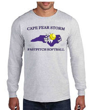 Load image into Gallery viewer, Cape Fear Storm YOUTH Long Sleeve Shirts