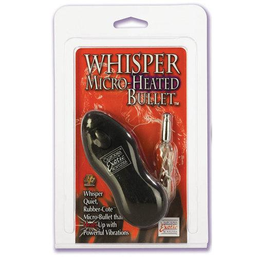 Whisper Micro Heated Bullet Black