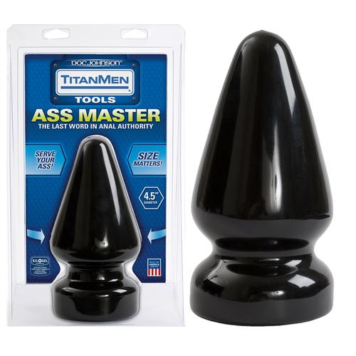 TitanMen - 4.5 inch Ass Master Black