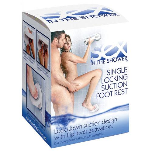 Sex In The Shower Single Lock Foot Rest
