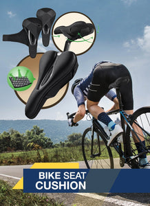 Not everyone LOVES having a bike seat cushion…..but it is a necessity.