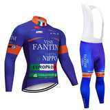 2020 VINI FANTINI Men's Team Cycling Long Sleeve Jersey Set