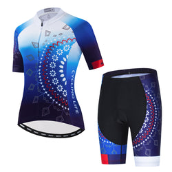 Sunny Flowers Cycling Kit