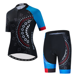 Sunny Flowers - Black Cycling Kit