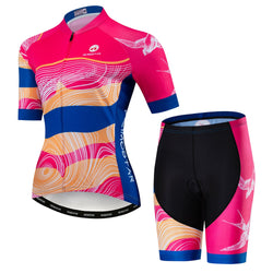 Pink Fly Bird Cycling Kit
