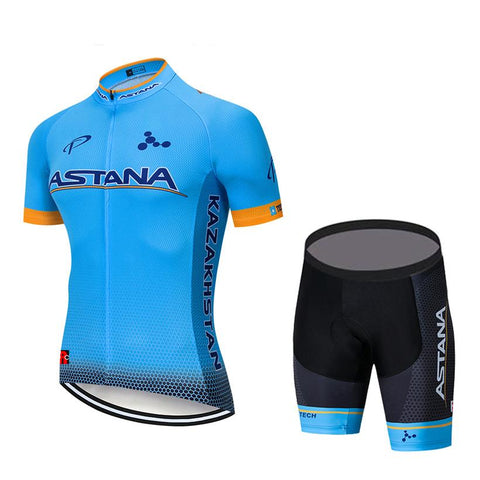 2019 ASTANA Blue Jersey Kit