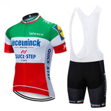 Quickstep Red Green Jersey Kit