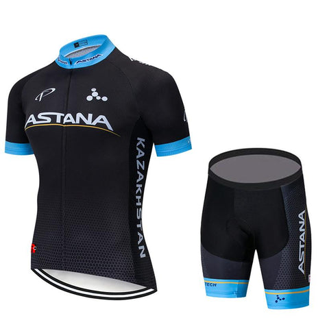 ASTANA Black Jersey Kit