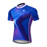Glare Blue and Purple Jersey