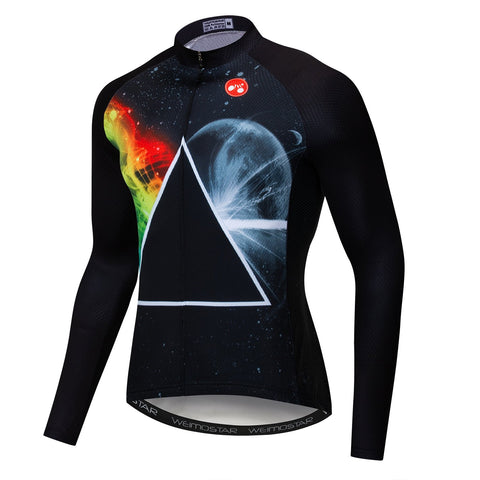 Dream Triangle Black Long Sleeve Jersey