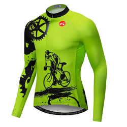 Green Gear Long Sleeve Jersey