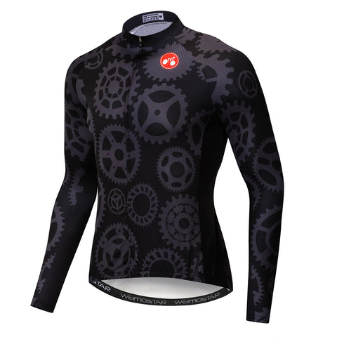 Bike Gear Long Sleeve Jersey