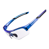 Gradient Blue Sport Sunglasses