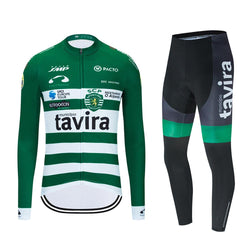 Tavira 2020 Team Cycling Long Sleeve Jersey Set