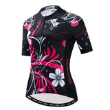 Pink Flowers Cycling Kit