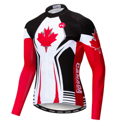 Canada Men's Long Sleeve Jersey