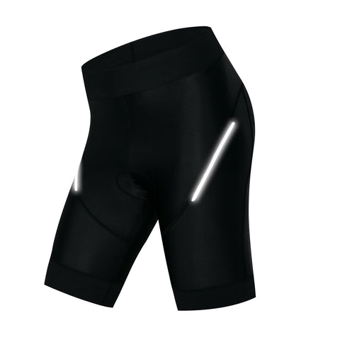 Women's Black Cycling Shorts