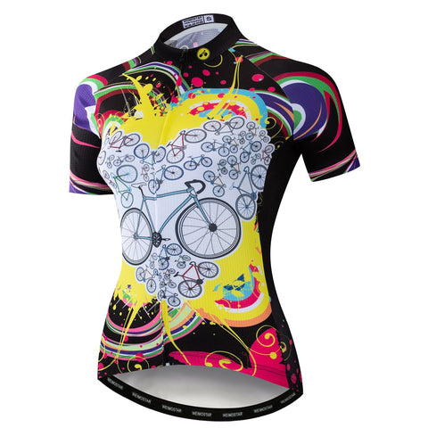 Bike Love Peach Jersey