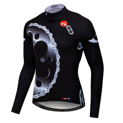Black Gear Long Sleeve Jersey