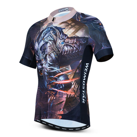 Warrior Lion Cycling Jersey