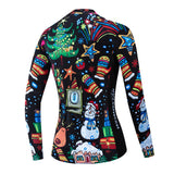 Christmas Tree Women's Long Sleeve Jersey