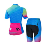 Blue Bear Paw Cycling Kit