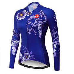 Purple Flowers Jersey