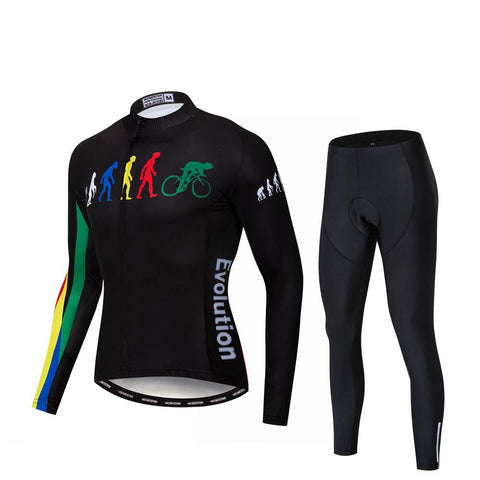 Evolution Long Sleeve Cycling Jersey Set