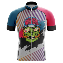 Skull Brain Frelsi Cycling Jersey