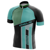 Stripe Blue Frelsi Cycling Jersey