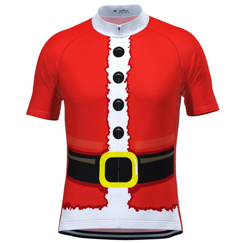 Santa Claus Men's Short Sleeve Jersey